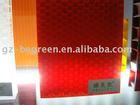 Polycarbonate honeycomb sheet, PC alveolate panel, Plastic decorative sheet