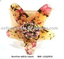 starfish decorated Fashion acrylic bangle
