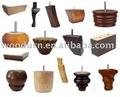 muebles de madera piernas