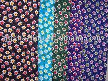 100% printed viscose fabric