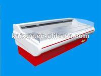 commercial open top cooler/freezer