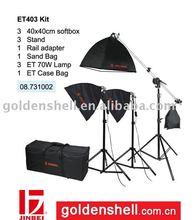 ET-403 Professional Continuous Light Lamp Kit