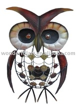 Fashionable handicraft metal decorative owl