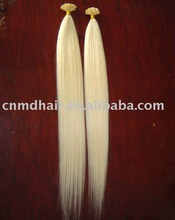 26 inch pre bonded Indian Remy Human Hair Extensions from china factory