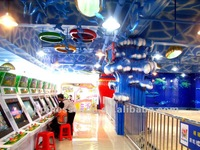 Amusement center design and decoration, theme park project
