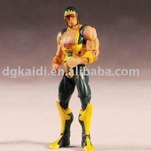 Custom design plastic articulated action figure