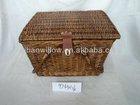 oblong wicker picnic basket