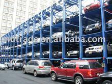 Four column car Stacker Parking lift garage parking equipment