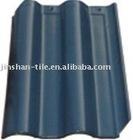 300x400mm Best Seller Blue Grey glazed interlocking clay roofing tile
