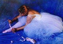 Handmade famous ballet paintings