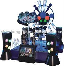 Arcade super drum game