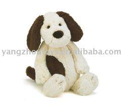 two colors plush dog
