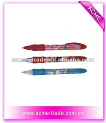 Cartoon Erasable Ballpen
