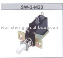 SW-3-M20/key lock power switch/push button switch can be used in household appliance
