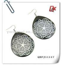 Fashion alloy tear earrings (QXFJ11117)
