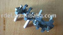 2 pins Holand insert plug/VDE 2 pin plug insert/Europe insert plugs