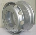 China fabricante do caminhão/ônibus tubeless roda de aço aro 22.5*8.25