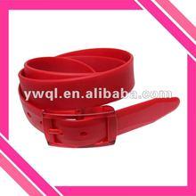 2012 Women belt in silicone rubber