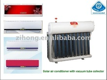 24000BTU cooling and heating hybrid wallmounted split solar air conditioner