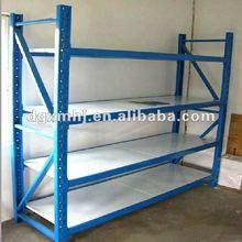 Light duty slotted angle rack/boltless rack/shelves