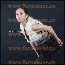 Rabbit&fox fur vest/vests winter/ YXQ-008