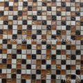 gs49 cozinha uso 15x15mm mistura de cores de vidro mosaicos de mármore