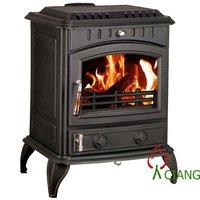 indoor cast iron wood stove
