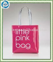 Cheap fashion pvc foldable shopping bag
