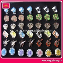 Various styles and colors magnetic golf ball marker hat clip