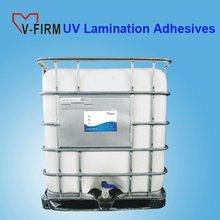 UV Lamination Adhesive for UV Coating Paper Packing Box