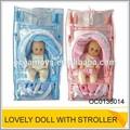 pulgadas 12 reborn baby doll precioso cochecito de bebé muñeca de juguete para los niños oc0136014