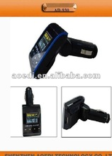 car fm transmtter without capacity support USB drive/SD/TF/micro SD card