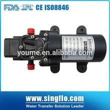 Singflo DC volvo small water pump 12v diaphragm