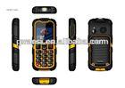dual sim FM camera mobile for the GSM waterproof,shockproof,dustproof