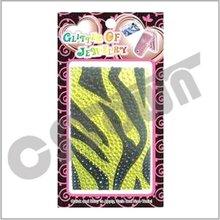 Adhesive mobile rhinestone phone sticker