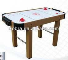 "Promotion Kids Air Hockey Table&48"" Mini Game Hockey Table&Slide Scorer 2pcs on side"