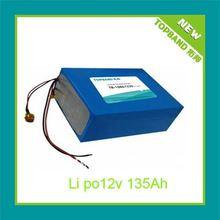 Promotion 12V 135Ah Lithium External Battery for Solar Energy /Wind Energy