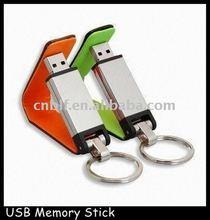 premium usb flash drive leather 4GB
