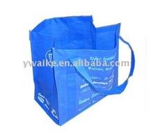 stock blue nonwoven shopping bag