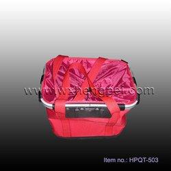 bicycle shopping bag/bicycle dog bag/folding bag for bike