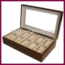 super luxury wooden watch box manufacturer YIWU