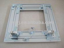 plaster board aluminum frame door