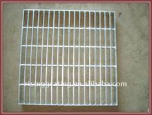 galvanized serrated steel grate drain
