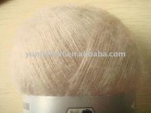 brush yarn-100% mohair like acrylic yarn