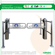 double swing gate for supermarket