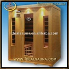 2013 most health wooden detox sauna room/Canadian hemlock health therapy sauna house
