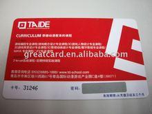 Pre-printed Scratch Off Business Card