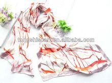 2013 burn-out silk scarf
