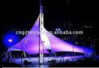 star shape landscape building awning tent ,membrane structure,extensive tent