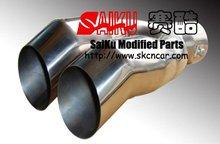 racing exhaust muffler pipe